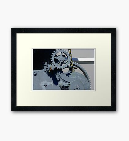Mechanics I Framed Print
