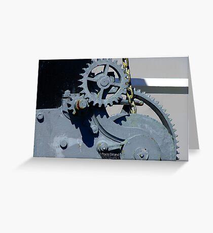 Mechanics I Greeting Card