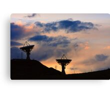 Sunset for Contact Canvas Print
