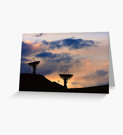 Sunset for Contact Greeting Card