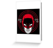 The Punished Devil Greeting Card