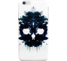 Rorschach Skull iPhone Case/Skin