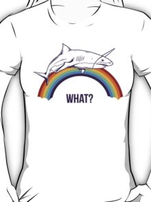 Rainbow Shark T-Shirt