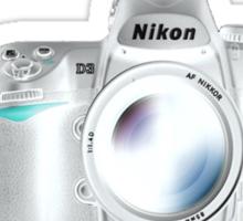 Nikon D3 Welcome to the Dark Side - Nikon DSLR Users Group Shirt  Sticker
