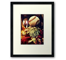 First Strike (Collaboration with Andy Nawroski)  Framed Print