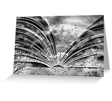 The Book of Freedom Greeting Card