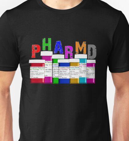 Pharmacist PharmD Prescription Bottles Unisex T-Shirt