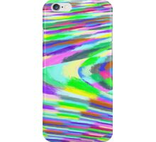 Stretched Colorful Blocks iPhone Case/Skin