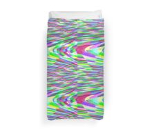 Stretched Colorful Blocks Duvet Cover
