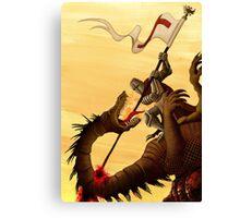 Saint George and the Dragon Canvas Print