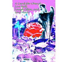 A Card for Cheryl Fugate Photographic Print