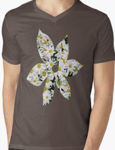Spring Daisies Mens V-Neck T-Shirt
