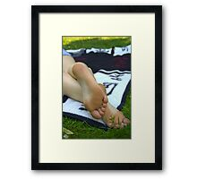 Summer Feeling III Framed Print