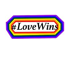 #LoveWins Rainbow Illustration by Sing-To-The-Sky