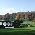 The bridge at Stourhead by Spiritmaiden