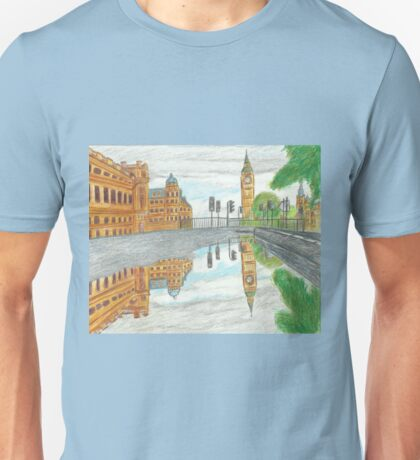 London in a Puddle Unisex T-Shirt