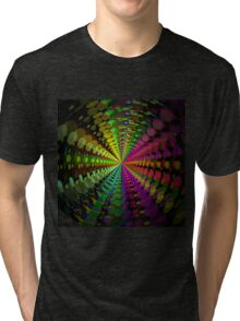 Abstract / Psychedelic Radial Pattern Tri-blend T-Shirt