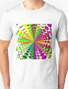 Abstract / Psychedelic Radial Pattern T-Shirt