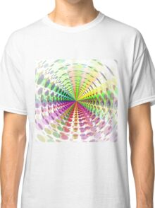 Abstract / Psychedelic Radial Pattern Classic T-Shirt