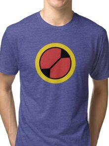 Megaman .EXE Emblem Tri-blend T-Shirt