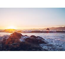 Rocky Shore of Life Photographic Print