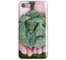 Pine Green, Spine Clean iPhone Case/Skin