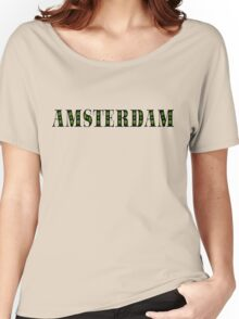 AMSTERDAM Women's Relaxed Fit T-Shirt