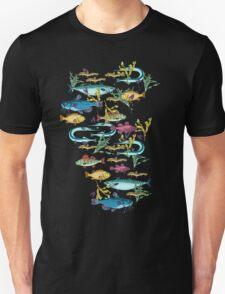 Magical underwater world. T-Shirt