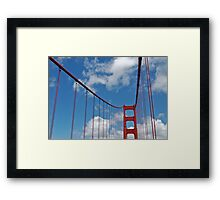 Golden Gate Span1 Framed Print