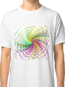 Abstract / Psychedelic Spiral Pattern Classic T-Shirt