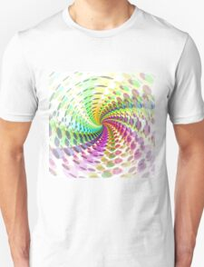 Abstract / Psychedelic Spiral Pattern Unisex T-Shirt