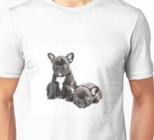 Two Frenchies Unisex T-Shirt
