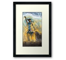 Bent to Her Will Framed Print