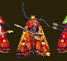 The Moth Guitarists by Mothar