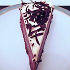Delicious Dark Chocolate Tiramisu Cheesecake - Just One Slice! by BlueMoonRose