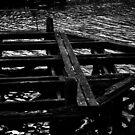 Whitby Swing Bridge Foot by Ashley Etchell