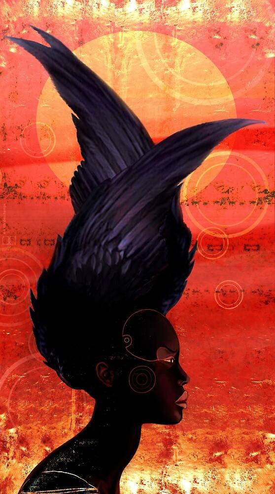 black swan by kath-deschamps