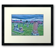 Hillside Memorial Framed Print