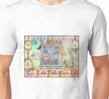 Buddha peace saying Unisex T-Shirt