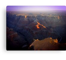 Sunset at The Grand Canyon Canvas Print