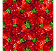 Vegetables pattern composition Photographic Print