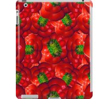 Vegetables pattern composition iPad Case/Skin