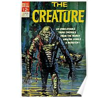 The Creature Reproduction of retro comic cover Poster