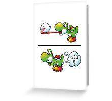 Farting Yoshi Greeting Card