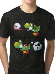 Farting Yoshi Tri-blend T-Shirt
