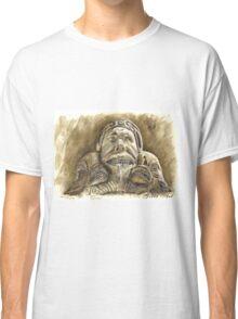 Detail of the fountain Piazza della Rotonda, Rome Classic T-Shirt