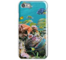underwater sea life colors iPhone Case/Skin