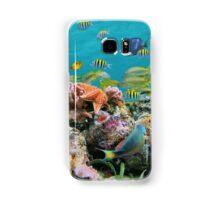 underwater sea life colors Samsung Galaxy Case/Skin