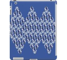 Blue Crystals Pattern Trio iPad Case/Skin
