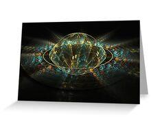 Magic in universe Greeting Card